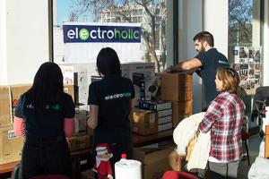 Συνεισφορά του Electroholic.gr στην διανομή των οικιακών συσκευών χορηγίας