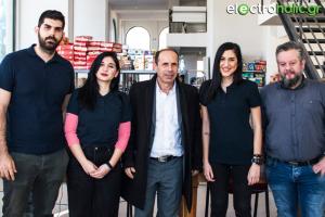 Η ομάδα του Electroholic.gr με τον Δήμαρχο Ραφήνας